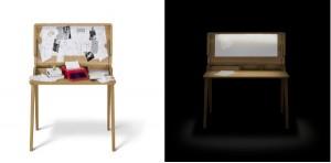 Der Sekretär der Möbelkollektion Fino. Foto: Studio Thomas Feichtner