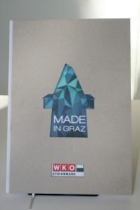 """""""Made in Graz"""": Hinter diesem Titel und Cover verbergen sich 40 Top-Unternehmen aus der steirischen Landeshauptstadt. Foto: TRICOM"""