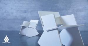 """Bei der ROCKER-Serie ist der Name Programm: Die leicht zusammensteckbaren Möbel """"rocken"""" nicht nur selbst, sondern jedes Zuhause."""