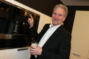 Andreas Enslin, der Miele-Chef Designer. Foto: Miele