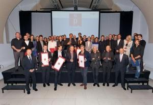 Der Staatspreis 2013 ist ausgeschrieben, zuletzt wurde dieser vor zwei Jahren verliehen. Die Preisträger des Staatspreises Design 2011 strahlten um die Wette. Foto: BMWFJ/Thule G. Jug