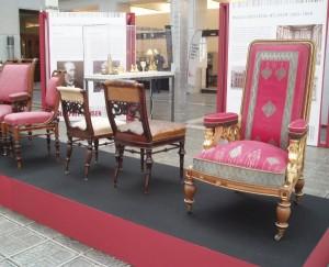 Die Idee des Gesamtkunstwerks verfolgend, kreierte Hansen auch Möbel. Foto: wohndesigners