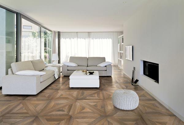Fliesen im Parkett-Look:wohndesigners