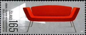 """""""Dimon"""" von Rossin ziert die isländische Briefmarke. Foto: Rossin"""