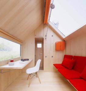 """Kompakt und raffiniert: """"Diogene"""", designt von Renzo Piano und dem Renzo Piano Building Workshop, Prototyp gemeinsam mit Vitra realisiert. Foto: Vitra"""