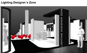 """Die """"Lighting Designer's Zone"""" feiert Premiere und bietet unabhängigen Lichtplanern und Lichtdesigners eine eigene Plattform. Foto: Präsentation zur Lighting Designer´s Zone/Messe Düsseldorf"""