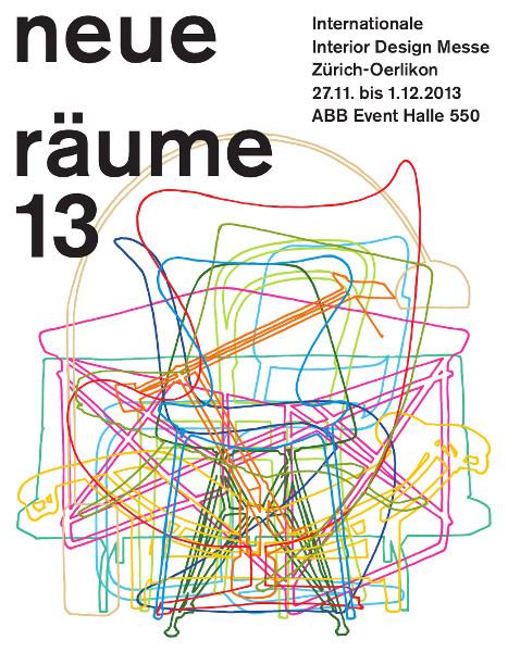 """Die """"neue räume 13"""" geht von 27. November bis 1. Dezember in Szene. Foto: Key visual """"neue räume"""""""