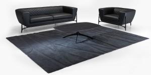 Die neue Möbelkollektion von Mercedes Benz Style überzeugt mit sportlich-elegantem Design – wie z.B. auch das Sofa MBS035. Foto: Formitalia
