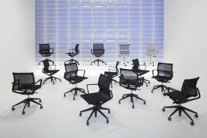 """""""Physix"""" ist im Fachhandel erhältlich und erobert nach erfolgreicher Präsentation auf der ORGATEC nun die Büros. Foto: Vitra"""