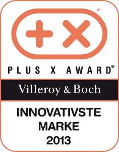 "Villeroy & Boch wurde beim Plus X Award mit dem ""Most Innovative Brand Award 2013"" in der Kategorie Sanitär gekrönt. Foto: Villeroy & Boch"