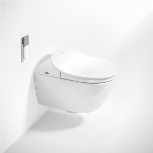 "Organisches Design, innovative Technologie: ""ViClean Leaf"". Foto: Villeroy & Boch"