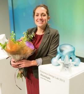 """Der zweite Preis ging an Luiza Silva für das Konzept """"Atomium"""". Foto: Electrolux"""