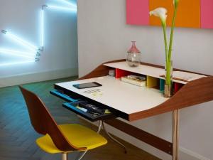 Vitra ermöglicht mit einer Vielzahl an Möbeln die individuelle Gestaltung des Home Office. Foto: Vitra