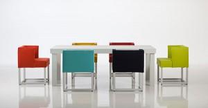 Bunte Bezüge und farbenfrohe Arrangements sorgen für einen optischen Frischekick – bequemer Sitzkomfort natürlich inklusive. Foto: brühl & sippold GmbH