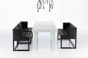 Stilvoll-stylische Schwarz-Weiß-Kombination. Foto: brühl & sippold GmbH