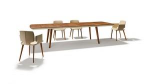 """Der Tisch """"flaye"""" von TEAM 7. Foto: TEAM 7"""