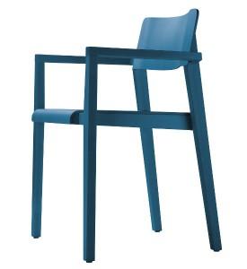 Ausgewogene Proportionen und feine Details charakterisieren den Thonet-Stuhl. Foto: Thonet