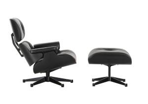 Den legendären Lounge Chair lässt Vitra nun in Schwarz erstrahlen. Foto: Vitra