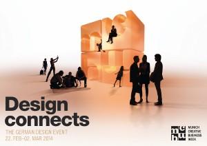 """Die Munich Creative Business Week 2014 steht unter dem Motto """"Design connects"""". Foto: MCBW/bayern design GmbH"""