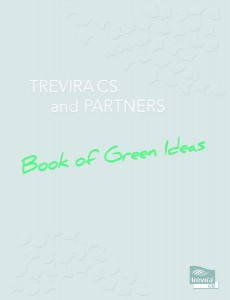 "Trevira CS hat das ""Book of Green Ideas"" herausgebracht. Foto: Trevira GmbH"