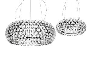 Die Leuchte Caboche, gestaltet von Patricia Urquiola und Eliana Gerotto, gibt's nun auch in LED-Version. Foto: Foscarini