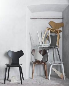 Die Stuhl- und Möbelikone setzt nun auch in ursprünglicher Form Akzente und den Erfolgszug fort. Foto: Republic of Fritz Hansen™