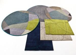 """Bene setzt mit der neuen Teppichkollektion """"Greenwich"""", designt von PearsonLloyd, nun auch am Boden Akzente. Foto: © Bene AG"""