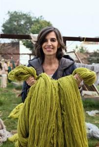 """""""Bei nanimarquina glauben wir, dass jede Farbe für ein Gefühl steht und dass jedes Gefühl seine eigene Farbe hat"""", so Nani Marquina, Designerin und Inhaberin des Teppichproduzenten nanimarquina. Foto: © Bene AG"""