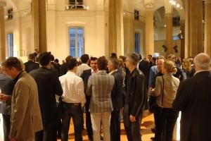 Hotspot: Die internationale Fachwelt kam zahlreich, sah und war begeistert. Foto: GeSK / Österr. Möbelindustrie