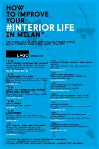 """LAGO goes Milano und zeigt an 13 Locations """"Interior Life"""", seine Vision von neuem, ganzheitlichen Design. Foto: LAGO"""