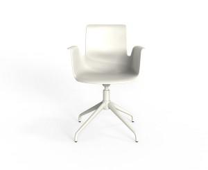 """""""Pro"""" von Flötotto, designt von Konstantin Grcic, gibt's nun auch als neue Armlehnen-Version. Foto: Flötotto"""