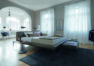 schlafen mit walter knoll wohndesigners. Black Bedroom Furniture Sets. Home Design Ideas