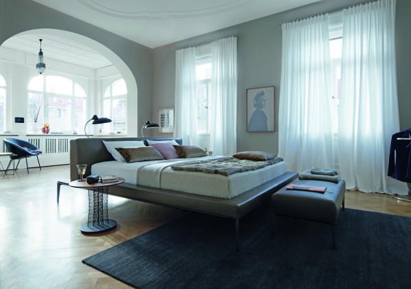 schlafen mit walter knoll wohndesigners. Black Bedroom Furniture Sets. Home Design Ideas