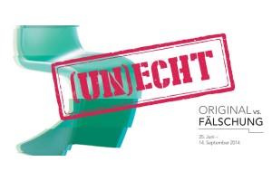 """Die Ausstellung """"Original vs. Fälschung"""" im designforum Wien widmet sich dem Thema der Produkt- bzw. Markenpiraterie. Foto: designforum Wien"""