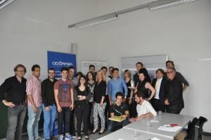 """Kreativität & Know How: Beim Projekt """"Bad der Zukunft"""" wurden die Studierenden der FH Joanneum von GROHE und Odörfer unterstützt. Foto: GROHE"""