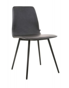 Ergonomisch perfekt geformt, sorgt der Designstuhl für Sitzkomfort deluxe. Foto: KFF