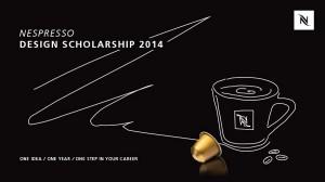 Der Call für das Nespresso Design Scholarship läuft. Foto: Nespresso
