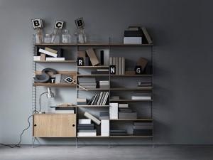 Das String System feiert seinen 65er – und erweist sich mitsamt neuer Funktionen als moderner Klassiker. Foto: String Furniture