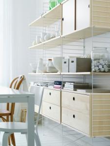 Moderne Ikone mit praktischen Eigenschaften: String Furniture entwickelt das modulare Regalsystem laufend weiter. Foto: String Furniture