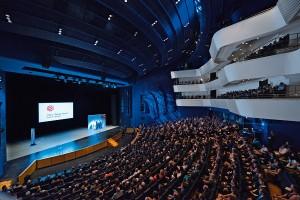 Bei der Red Dot-Gala in Essen trifft sich die Designszene, die Besten der Besten werden mit Trophäen geehrt. Foto: Red Dot Design Award