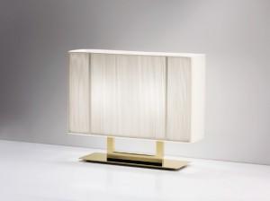 Die Hänge-, Decken-, Wand-, Steh- und Tischleuchten gibt es nun u.a. auch mit sandfarbenen Lampenschirmen sowie LEDS. Foto: Axo Light