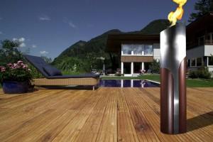 Jede der künstlerisch verarbeiteten Säulen ist ein Unikat. Foto: Feuerkultur GmbH