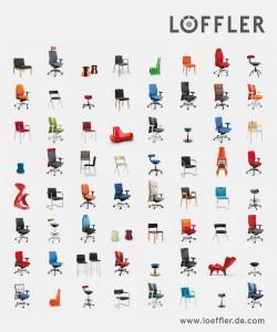 Die innovativen Stühle bieten höchsten Sitzkomfort - zu erleben und besitzen im Showroom Wien. Foto: LÖFFLER GmbH