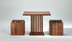 Der Design-Hocker Hedgehock von NOHrD sorgt für ergonomisches, dynamisches Sitzen. Foto: NOHrD