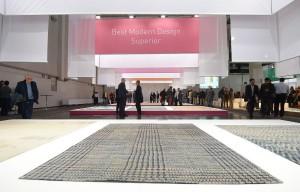 Die Carpet Design Awards 2015 sind gestartet, die Bewerbungsfrist läuft. Gesucht und prämiert werden handgefertigte Teppiche. Foto: Deutsche Messe