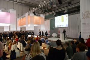 Die Gewinner der Carpet Design Awards 2015 werden am 18. Jänner auf der DOMOTEX bekannt gegeben und ausgezeichnet. Foto: Deutsche Messe