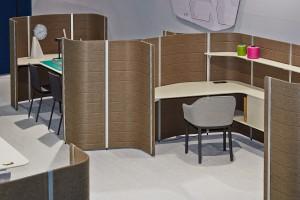 """Mit """"The Workbay Office"""" läuft im Vitra Schauraum Wien eine spannende Installation zu und mit den Workbays, designt von Erwan und Ronan Bouroullec. Foto: Vitra"""
