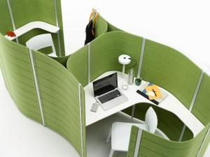 Mit Workbay ist das Büro fit für alle Anforderungen des Büroalltags. Foto: Vitra