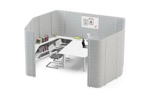 Nix ist wirklich fix – Workbay eröffnet viele Möglichkeiten der optimalen Bürogestaltung. Foto: Vitra