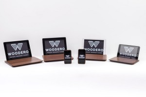 """Woodero begeistert mit federleichten Smartphone-Covers und iPad-Cases aus Nuss-Massivholz """"made in Austria"""". Foto: Woodero GmbH"""